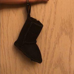 Ugg boot keychain